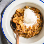 Instant Pot apple crisp with granola | Instant Pot desserts
