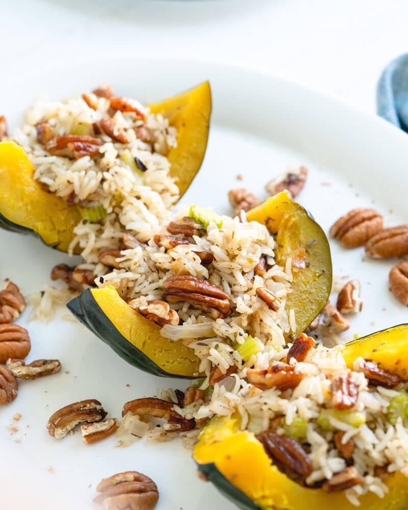 vegetarian acorn squash recipe