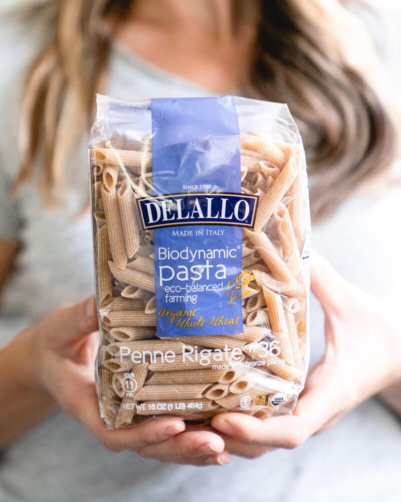 Biodynamic pasta