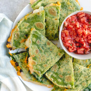 Veggie quesadilla recipe
