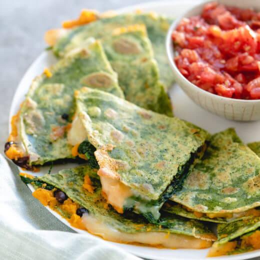 Veggie quesadilla recipe | healthy dinner ideas for kids | Sweet potato quesadilla | Spinach quesadilla | Healthy quesadilla