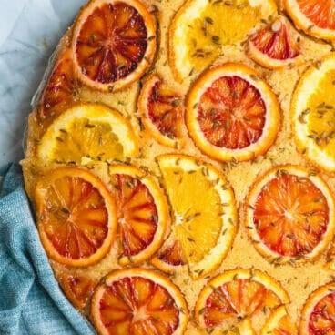 cornmeal cake |orange cake recipe | orange upside down cake |orange cornmeal cake