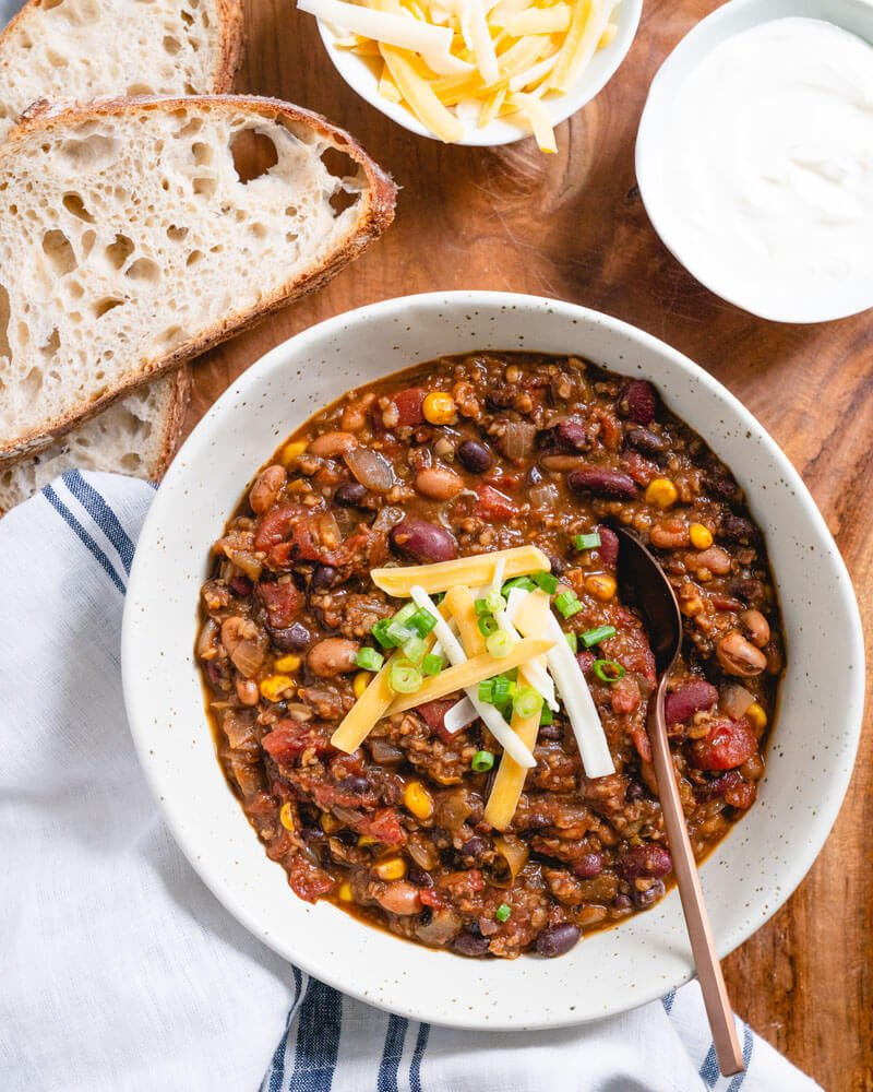 Vegetarian Chili All Of Our Best Secrets A Couple Cooks