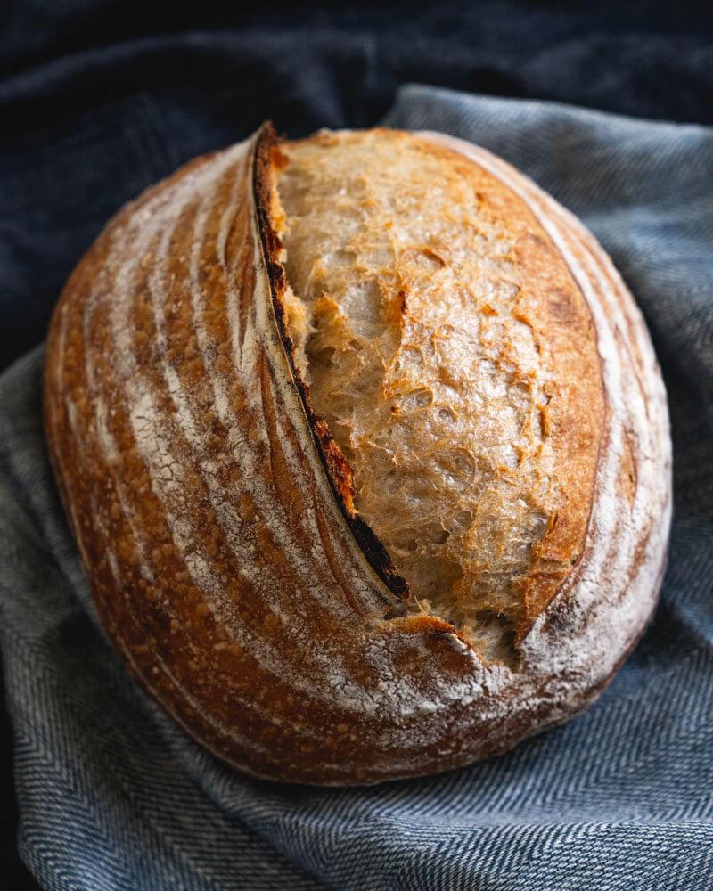 beautiful loaf sourdough bread