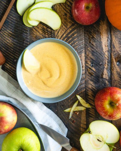 Pumpkin yogurt fruit dip recipe | Easy fruit dip | Pumpkin dip