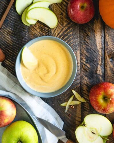 Pumpkin yogurt fruit dip recipe | Easy fruit dip | Pumpkin dip