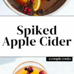 Spiked Apple Cider