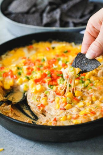 Mexican Cheese Dip Recipe | easy finger food recipes for a crowd