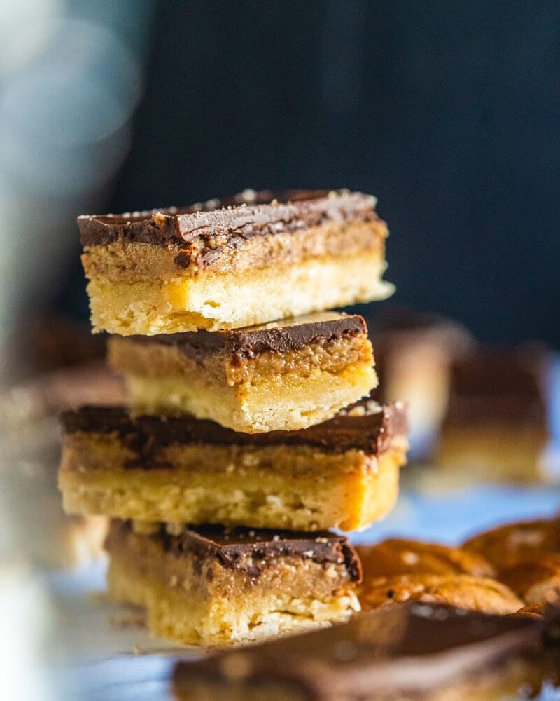caramelized pecans | maple pecan bars
