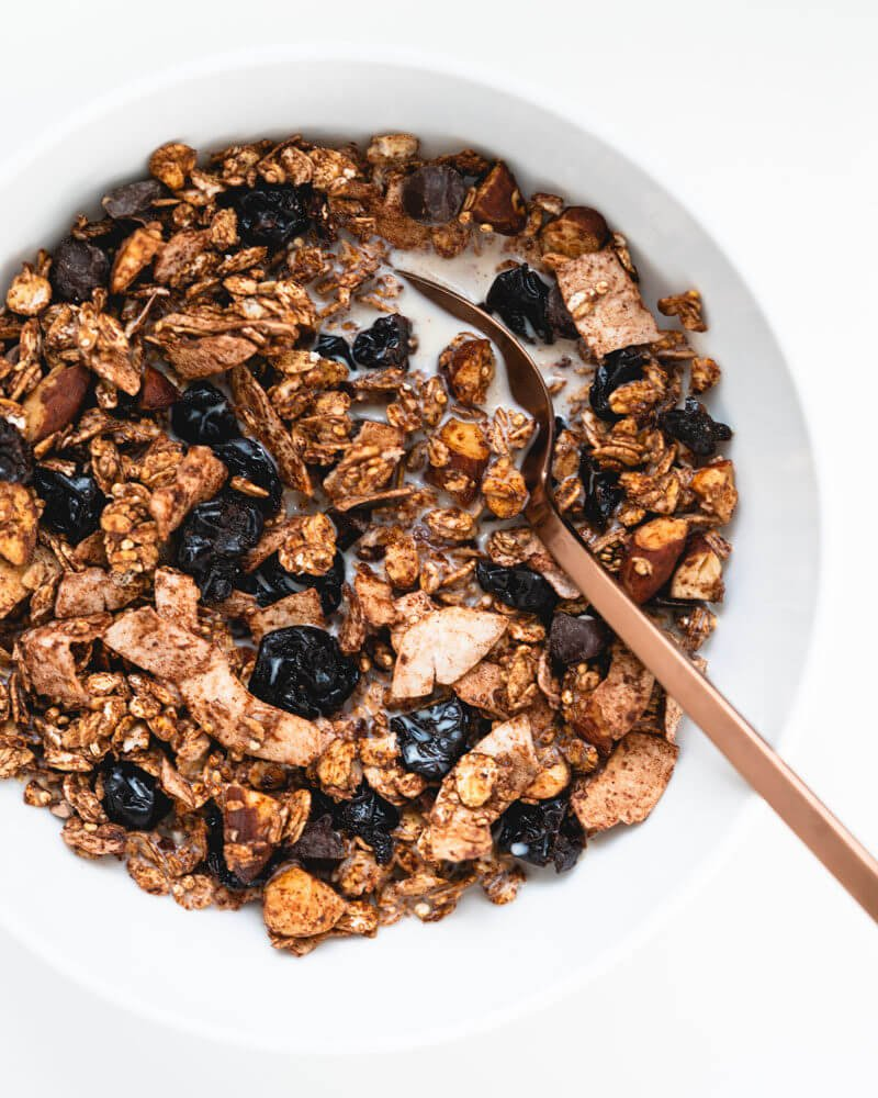 Chocolate muesli recipe | muesli cereal | healthy granola