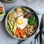 dolsot bibimbap | dolsot pan | how to make bibimbap | vegetarian bibimbap