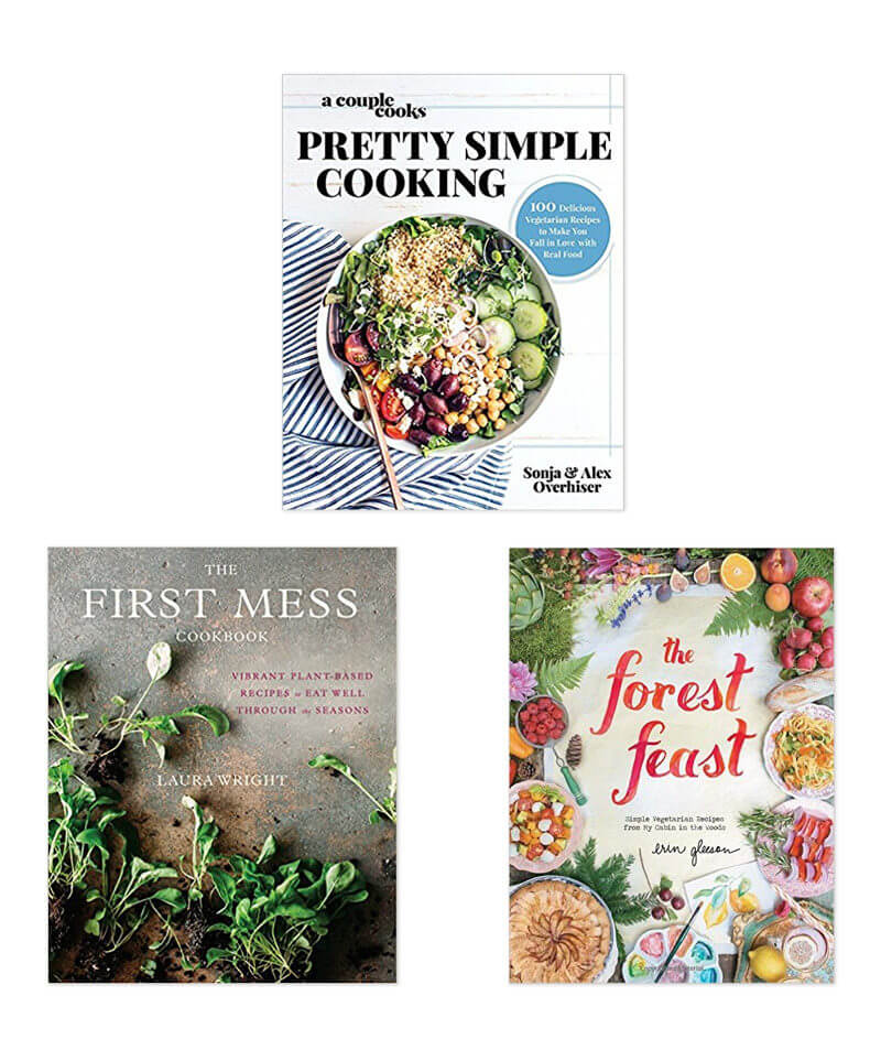 Gifts for vegetarians | Best vegetarian cookbooks | Pretty Simple Cooking