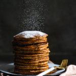 Gingerbread pancakes | Oatmeal pancakes | Gluten free pancakes | Healthy pancakes | Gingerbread spice ingredients