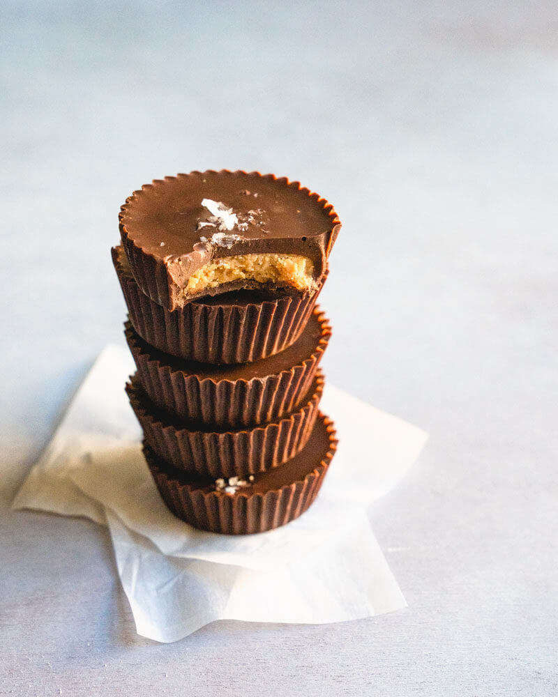Homemade peanut butter cups | how to make peanut butter cups