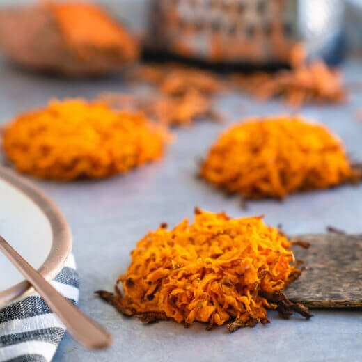 Sweet potato hash browns | How to make sweet potato hash browns