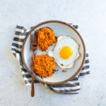 Sweet potato hash browns | Healthy breakfast
