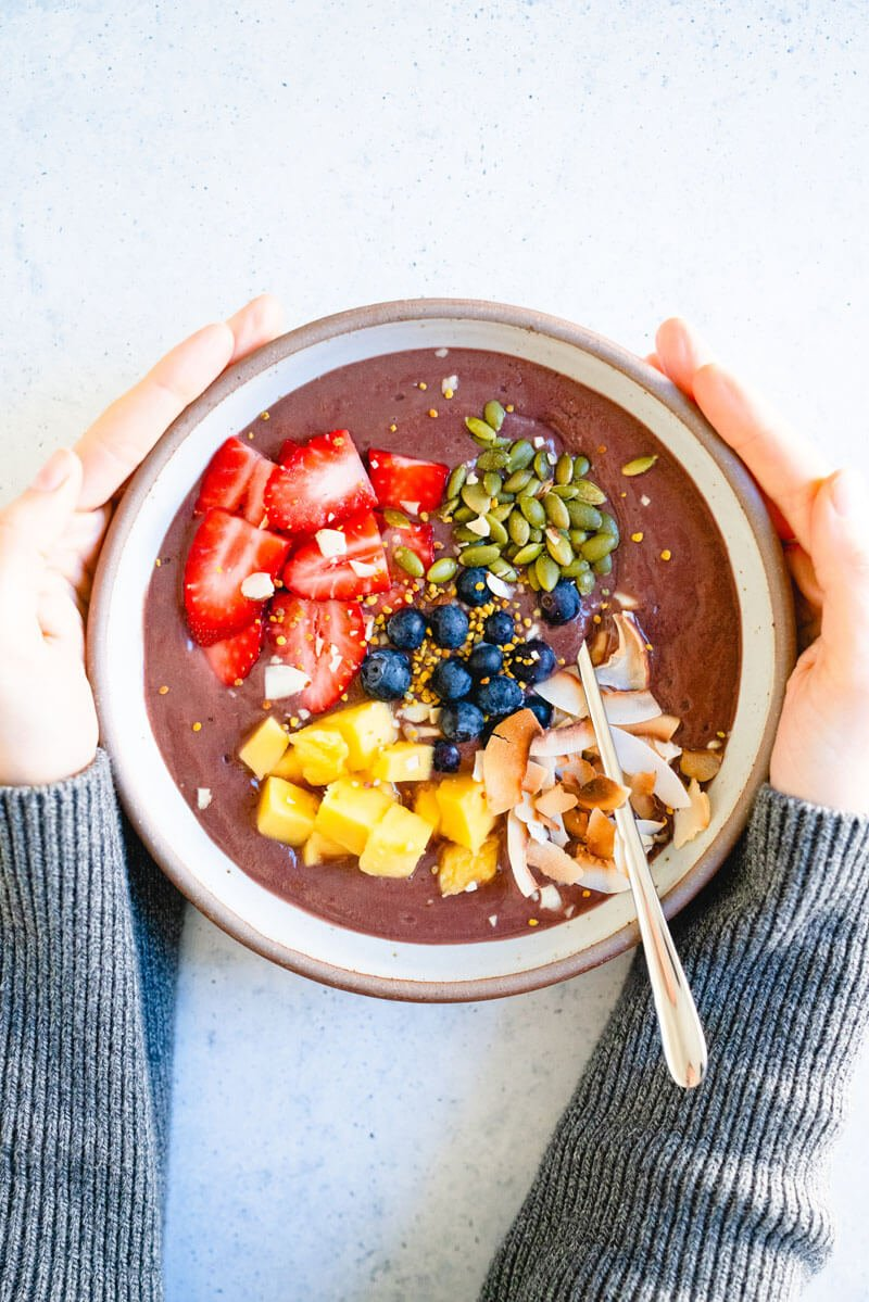 Best Homemade Acai Bowl Easier Than You Think A Couple Cooks