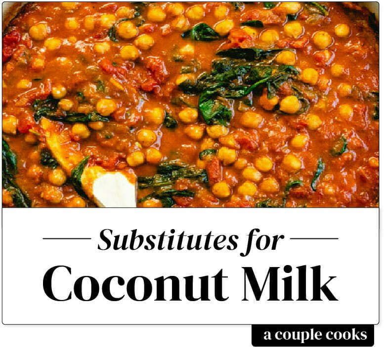 Substitute for coconut milk