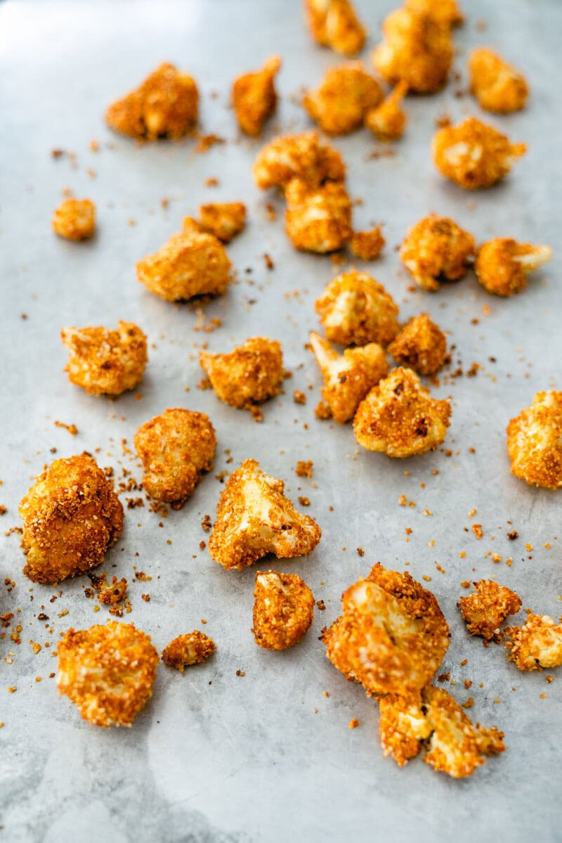 Breaded Cauliflower | Crispy Cauliflower