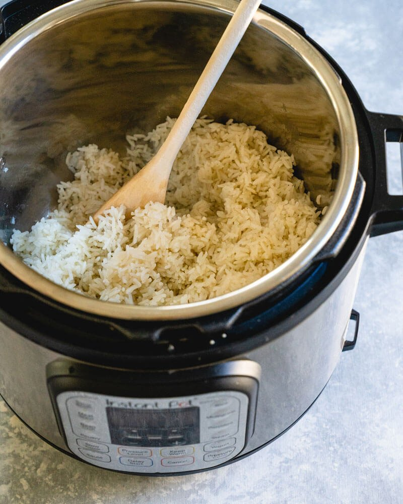 How To Cook Rice In Instant Pot White Or Brown Rice A Couple