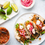 Loaded Quinoa Tacos | Quinoa taco filling | Vegetarian taco recipe