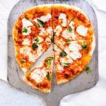 Homemade pizza pizza peel