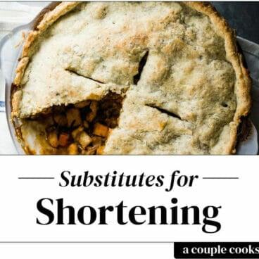 Substitute for shortening