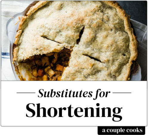 Substitute for shortening
