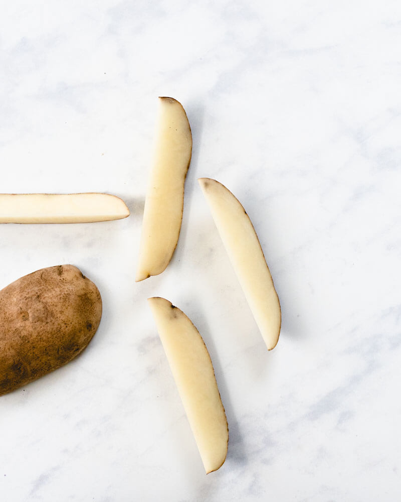 Basic Knife Skills: How To Cut Potato Wedges