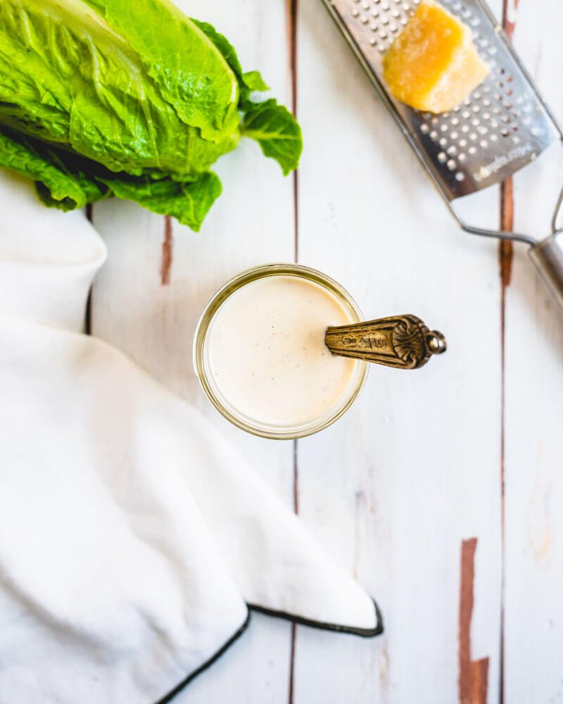 Homemade Caesar dressing recipe | How many anchovies in anchovy paste