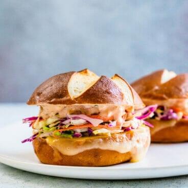 "Coleslaw & Swiss Cheese Melt Sandwich ""Best Sandwich Ever"" | Coleslaw sandwich | Swiss cheese sandwich"