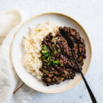 How to make Cuban black beans and rice