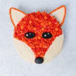 Fox cake | Fox birthday cake