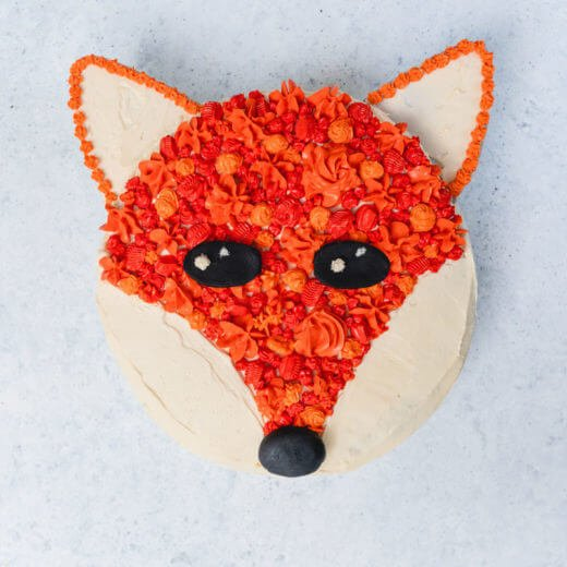 Fox cake | Fox birthday cake