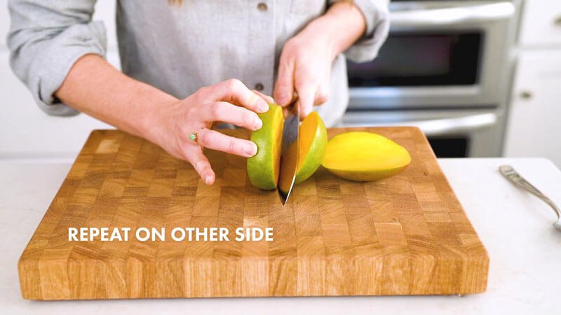 How to Cut a Mango | Cut off the other side