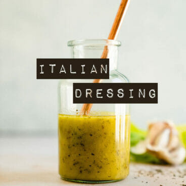Italian Dressing Recipe   How to make Italian dressing