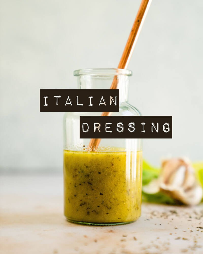 How to make Italian dressing