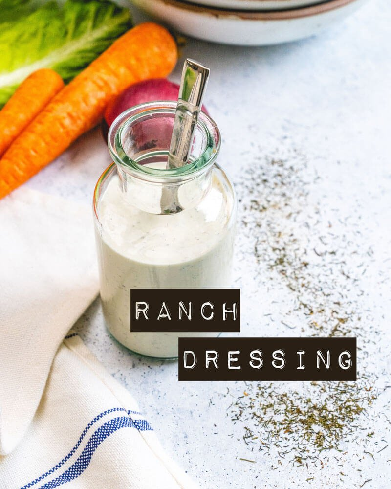 Healthy ranch dressing