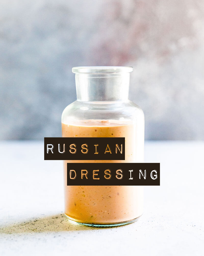 Russian dressing   What is Russian dressing
