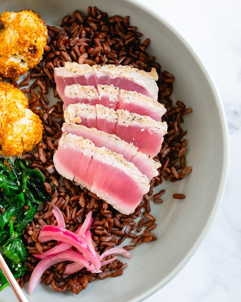 Seared tuna | Seared ahi tuna