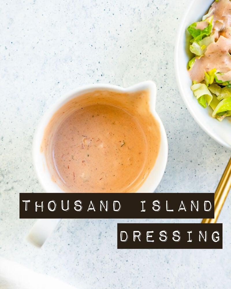 How to make thousand island dressing