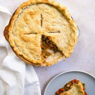 Fall vegetable pot pie