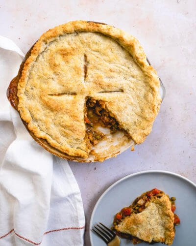 Fall vegetable pot pie