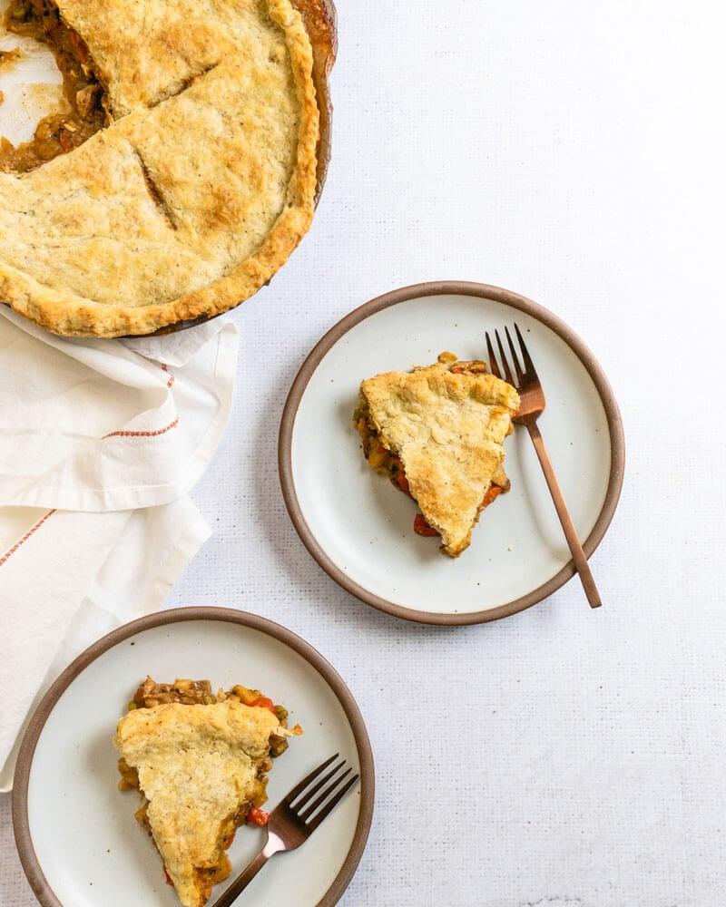 Vegetarian pot pie | How long to cook pot pie