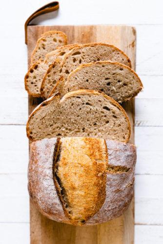 Artisan Dutch oven bread | Greek yogurt bread recipe
