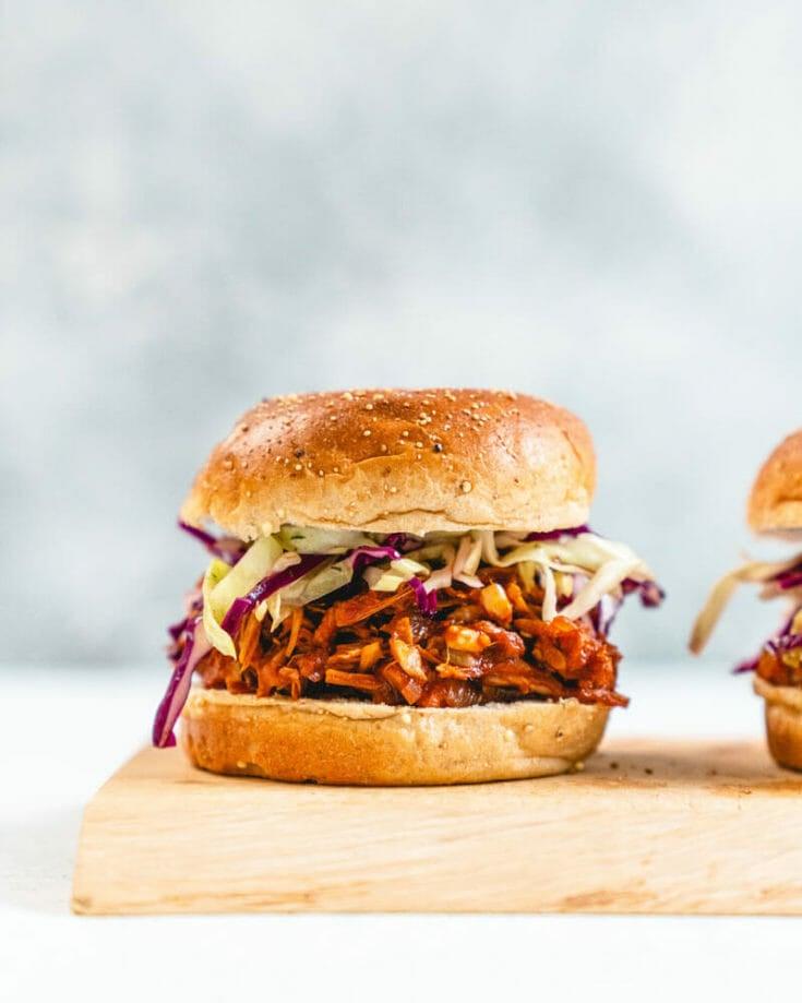 Vegetarian BBQ Sandwich