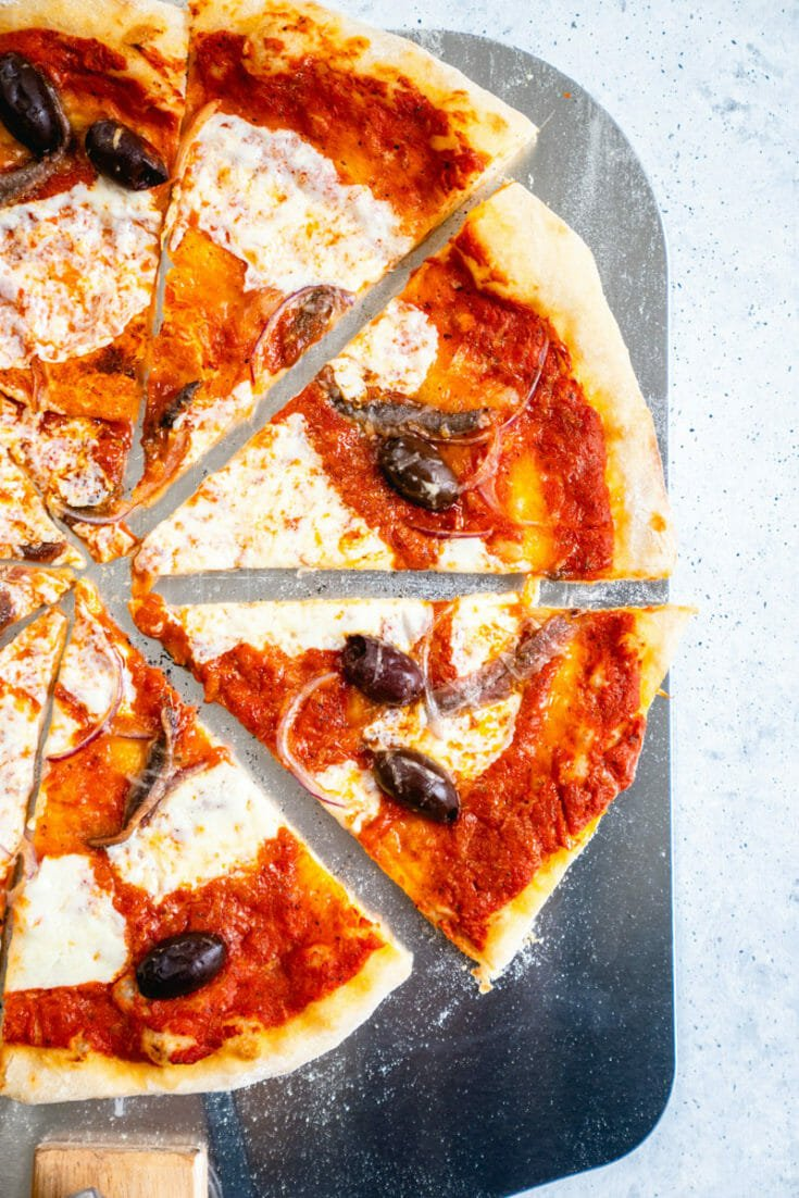 Best Anchovy Pizza
