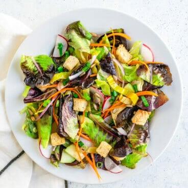 Tossed salad, best salad recipe