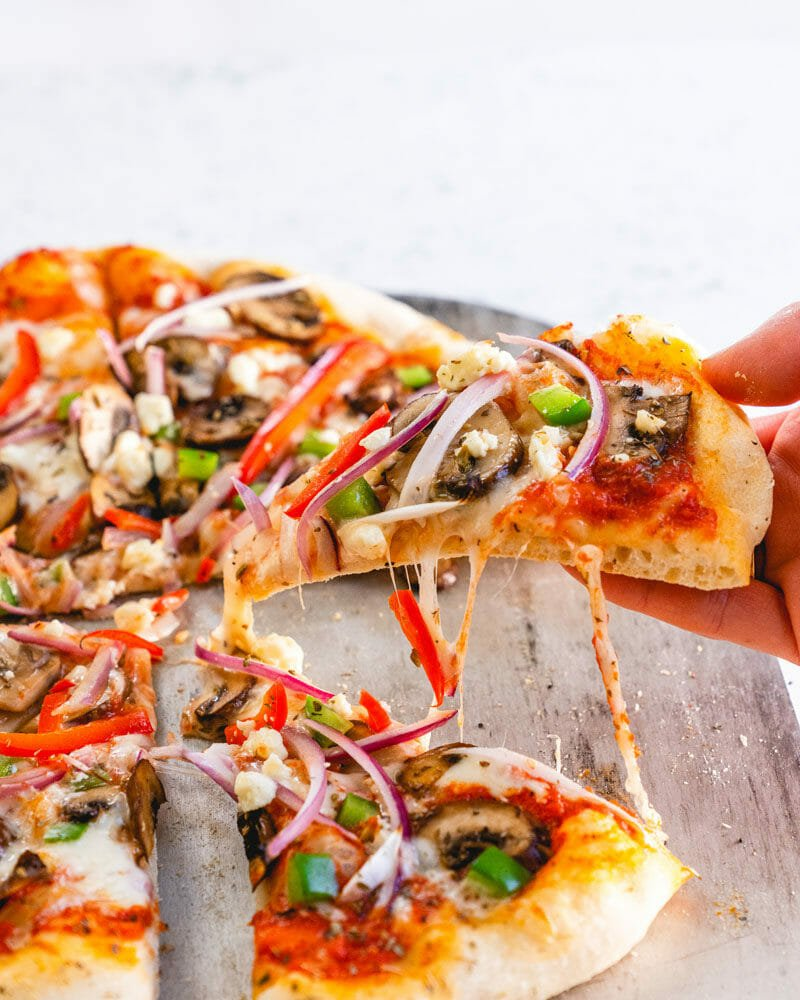 Veggie supreme pizza | Pizza topping ideas
