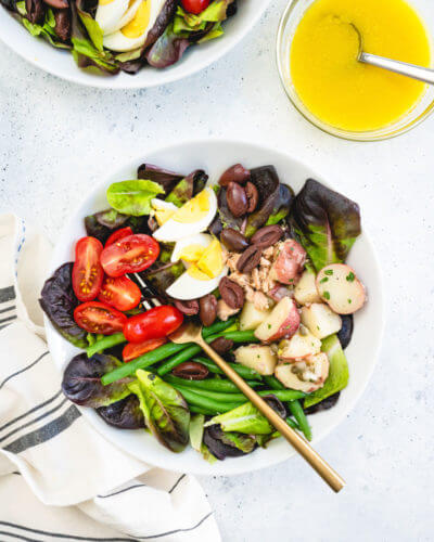 Nicoise salad dressing